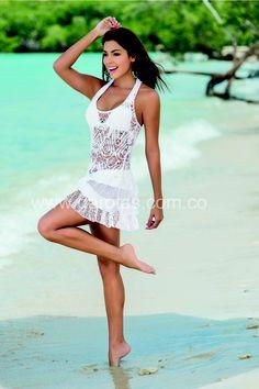Vestido Blanco Garotas