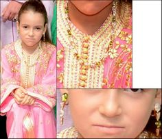 Lalla Khadiya at the wedding of her uncle Prince Moulay Rachid of Morocco June 2014