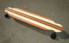 Longboard 48 x 95 made with Exotic Woods  Lanikai by croozerboards, $205.00