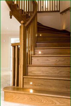 The Drive Curved Staircase   This Oak Curved Staircases Is Situated In  Stunning Surroundings To Give