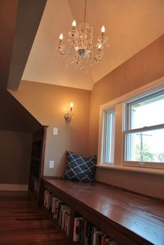 small attic master suite renovation