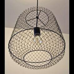 Fishing Basket Light Fixture. $65.00, via Etsy.