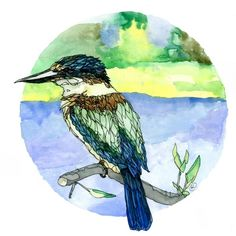 Great range of wall art for sale. Featuring many art prints by top NZ artists, including Rita Angus and more. Wall Art For Sale, New Zealand, Autumn, Bird, Art Prints, Artist, Painting, Animals, Vintage