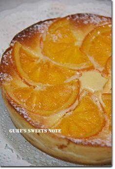 オレンジ・チーズケーキ by gurecoco 【クックパッド】 簡単おいしいみんなのレシピが279万品