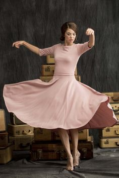 Pirouette Skirt by Shabby Apple. A grown-up twirly skirt!