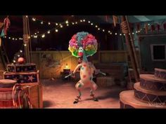 Madagascar 3 -Marty -Circus Afro Song:    This makes me deliriously happy & silly, I can play it over and over, like a big kid. I don't know whether to put in under iLaugh or Spiritual Soul food board bc it is both for me. I may go see this movie just bc of this song! *still giggling*