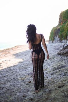 """""""This is how time skips. Links just lead to links that can lead you all the way back to the twelfth century."""" ― Tommy Orange, There There The Crochet Maxi Dress in Black Off Shoulder Long Dress, Summer Outfits, Cute Outfits, Festival Outfits, Crochet, Beachwear, Ideias Fashion, Sexy Women, Swimsuits"""