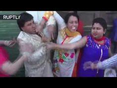 مطلقة تعتدي على زوجها أثناء زفافه الجديد
