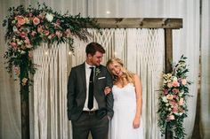 Take your wedding decor to the next level with this macrame backdrop. This is a luxurious handcrafted wedding hanging that can be used on arbors or arches for indoor weddings or outdoor weddings. Use at your ceremony, reception, head table, cake table, in your wedding photos….. The options are endless. It is a photographers dream backdrop and makes any photo look stunning. The hanging is 6 feet wide by 7 feet long but can be custom made according to your dimensions. If you would like a…
