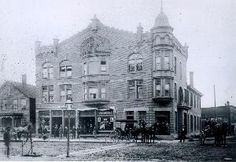 Holmes Hotel Westerville, OH approximately 1890