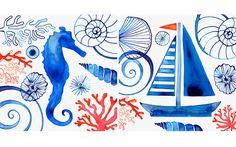 Margaret Berg Art : Illustration : coastal / nautical