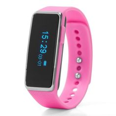 NUBAND ACTIV+ PINK ACTIVITY AND SLEEP TRACKER