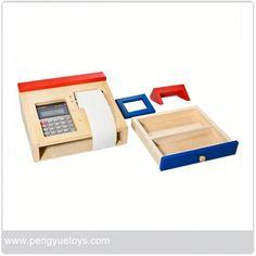 de madera caja registradora juguetes-Los demás juguetes y Ocio-Identificación del producto:1030309607-spanish.alibaba.com
