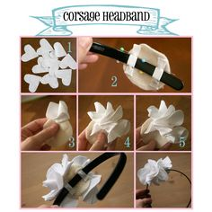 DIY Headband tutorial..inspiration