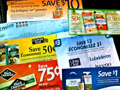 Extreme Couponing Canada - How to start extreme couponing… Extreme Couponing, Money Matters, Ways To Save Money, Daily Deals, Frugal, Saving Money, Coupons, Budgeting, Finance