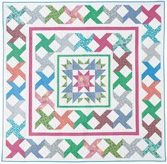 - Stars-A-Spin Quilt Kit