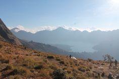 view from pelawangan sembalun