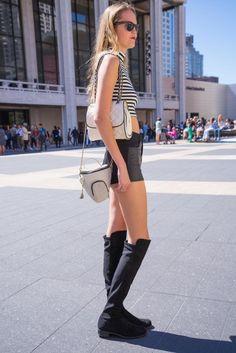 NEW YORK / bottoms.bag: FOREVER 21 /  shoes: Stuart Weitzman