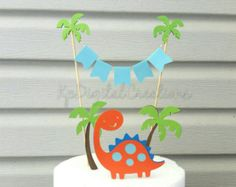 Torta de dinosaurio dinosaurio cumpleaños por EricasCrafties