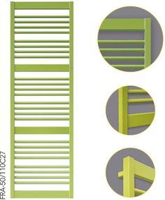 FRAME - piękny zielony grzejnik, który rozjaśni każde pomieszczenie.
