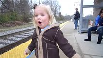 madeline and the train!