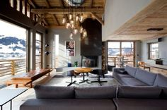 A Dream Cabin in France: Chalet Cyanella by BO Design | Trendland: Fashion Blog & Trend Magazine