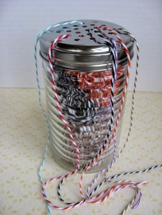 As The Card Rack Turns: Baker's Twine: Finding a Practical Way to Store It