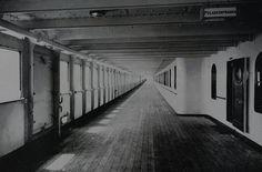 Titanic's A deck.