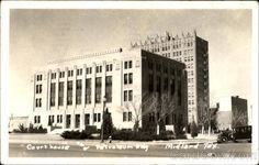 Our old Court House And Petroleum Bldg Midland, Texas