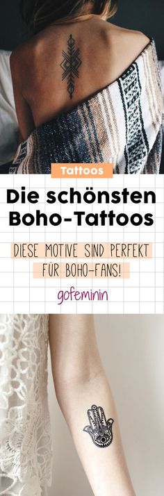 Boho Tattoos: Das sind die schönsten Motive