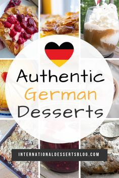 These easy and authentic recipes from Germany are sure to please family and friends (including your kids). Traditional cookies cake (Kuchen) gluten free for Christmas birthday and more! German Cakes Recipes, Easy German Recipes, German Fruit Cake Recipe, Dessert Blog, Dessert Recipes, Jello Recipes, Easy Desserts, Recipies, German Christmas Food