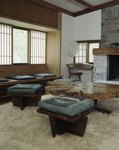 American furniture designer George Nakashima embraced construction as a kind of improvisation. He built without plans, and the detailing was developed from the material on hand or that which was available.