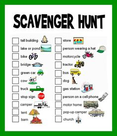 Send your class on a media scavenger hunt