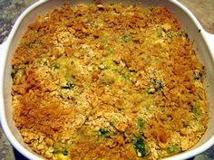 Paula Deen's Broccoli Casserole - On the day before Thanksgiving I got a frantic call from my best friend. She needed Paula Deens Br - Paula Deen Broccoli Casserole, Cheesy Broccoli Casserole, Vegetable Casserole, Vegetable Dishes, Vegetable Recipes, Brocoli Casserole Recipes, Broccoli Dishes, Broccoli Bake, Ritz Cracker Broccoli Casserole