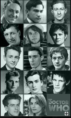 """elvisomar: """"Doctors Actors in their YouthThis adds… Take a look at a mixture of pins all to do with the topic of Doctor Who. Never before has there been a better time to Pin your favourite science fiction show Doctor Who Funny, Doctor Who Art, The Doctor, Eleventh Doctor, Bad Wolf Doctor Who, Doctor Who Actors, Virginia Woolf, Serie Doctor, Colin Baker"""