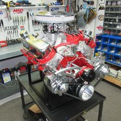 347 Ford Stroker Crate Engine With 425 HP
