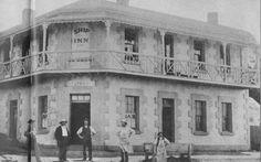 The Ship Inn at the corner of Bunbury and Maribyrnong Streets,Footscray,Victoria in 🌹 The Ship Inn, Melbourne Suburbs, The 'burbs, Melbourne Victoria, Historic Homes, Historical Photos, Old Photos, Family History, City