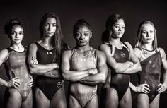 Meet the 2016 Olympic Team for gymnastics! Simone Biles, Gabby Douglas, Aly Raisman, Laurie Hernandez and Madison Kocian