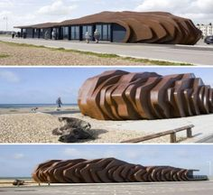The East Beach Café, Littlehampton, UK designed by Thomas Heatherwick