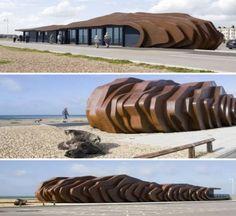 The East Beach Café, Littlehampton, UK designed by Thomas Heatherwick