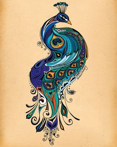 I think I have the outline of this pinned somewhere... LOVE the colors! Inspiration for future tattoo