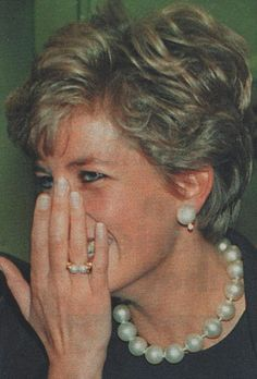 The princess loved to giggle..  Princess Diana.