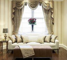 Классические шторы в интерьере: примеры с фото