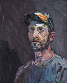 Guy Maestri: The fourth week of parenthood (self-portrait) :: Archibald Prize 2018 :: Art Gallery NSW