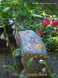 Groovy 22 Best Mosaic Garden Bench Images Mosaic Garden Mosaic Ibusinesslaw Wood Chair Design Ideas Ibusinesslaworg