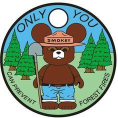 Smokey Bear pathtag