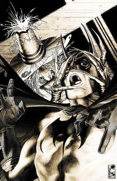 Detective Comics 836 by Simone Bianchi Comic Book Artists, Comic Book Characters, Comic Artist, Comic Character, Batman And Superman, Marvel Dc Comics, Dark Comics, Punisher Marvel, Batman Stuff