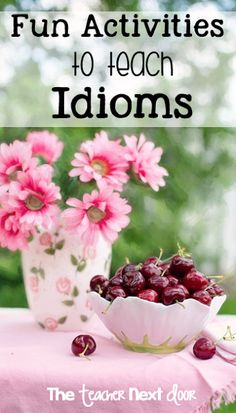 I love all of these fun ideas for teaching idioms! I really love #2! Can't wait to try it with my class.
