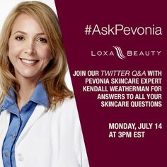 Join us for a skincare q amp a with timeless by pevonia skincare expert
