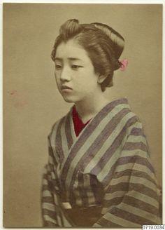fotografi, photograph Hand Coloring, Geisha, Photograph, Portraits, Painting, Art, Photography, Art Background, Painting Art